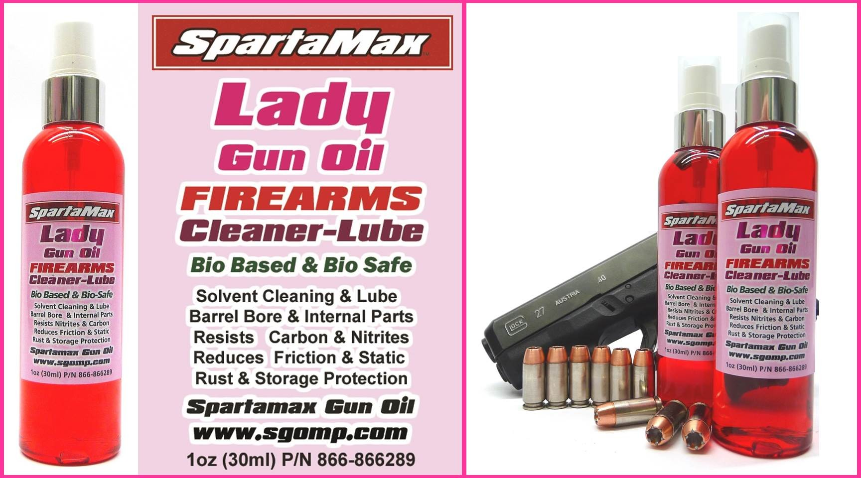 LADY GUN OIL 4OZ