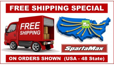 free shipping for the lower 48 states